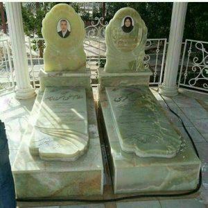 سنگ قبر مرمر بهشت
